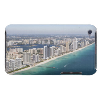 Cityscape as seen from air, Miami, Florida iPod Case-Mate Case