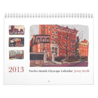 Cityscape Calendar