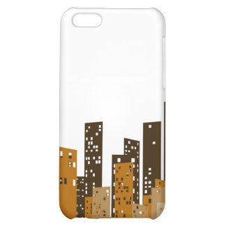 Cityscape Cover For iPhone 5C