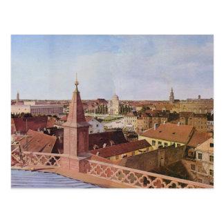 Cityscape - Eduard Gaertner Postcard