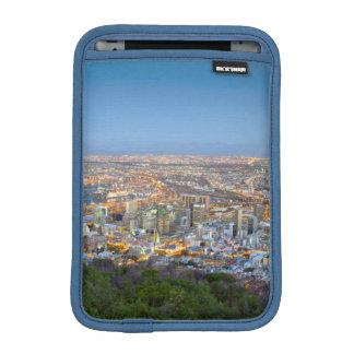 Cityscape From Summit Of Signal Hill At Dusk iPad Mini Sleeves