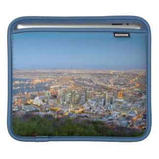 Cityscape From Summit Of Signal Hill At Dusk Sleeves For iPads