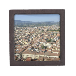 Cityscape from top of cupola of the Duomo Santa 2 Jewelry Box