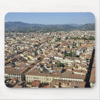 Cityscape from top of cupola of the Duomo Santa 2 Mouse Pad