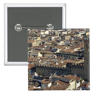 Cityscape from top of cupola of the Duomo Santa Button