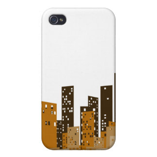 Cityscape iPhone 4/4S Covers