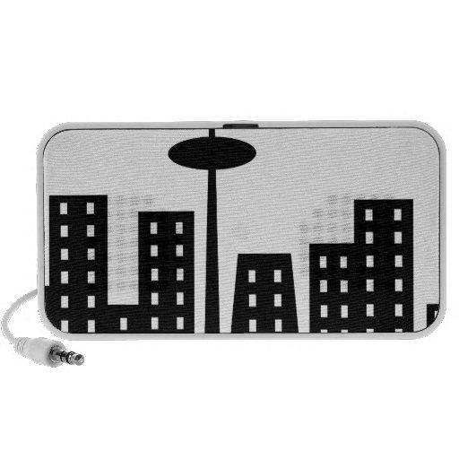 Cityscape iPhone Speakers
