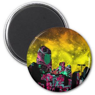 CityScape Refrigerator Magnets