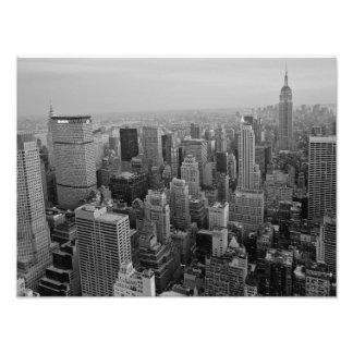Cityscape, Manhattan Photo Print