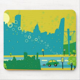 Cityscape Mouse Pad