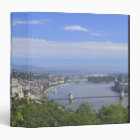 Cityscape of Budapest 3 Ring Binder