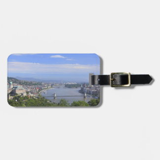 Cityscape of Budapest Bag Tag