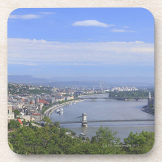 Cityscape of Budapest Beverage Coaster