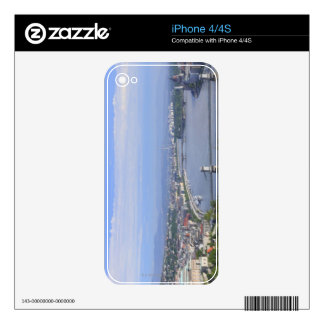 Cityscape of Budapest iPhone 4 Decal