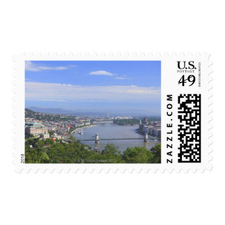 Cityscape of Budapest Postage Stamp