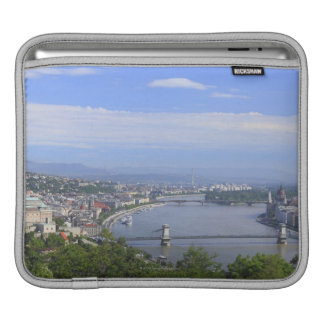 Cityscape of Budapest Sleeve For iPads