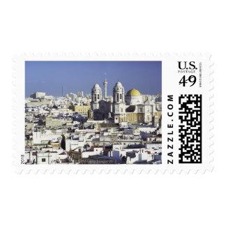 Cityscape of Cadiz, Spain Postage Stamps