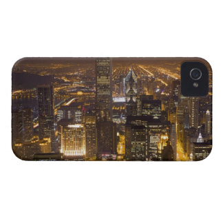 Cityscape of downtown Chicago iPhone 4 Case