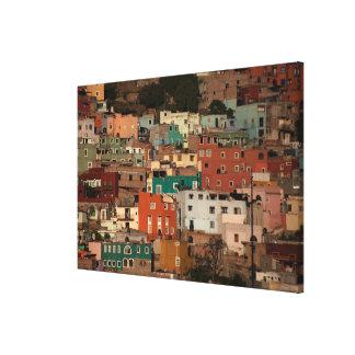 Cityscape Of Guanajuato, Mexico Canvas Print