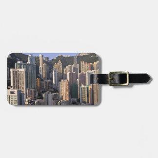 Cityscape of Hong Kong, China Bag Tag