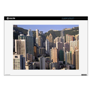 Cityscape of Hong Kong, China Decal For Laptop