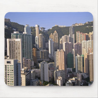 Cityscape of Hong Kong, China Mouse Pad