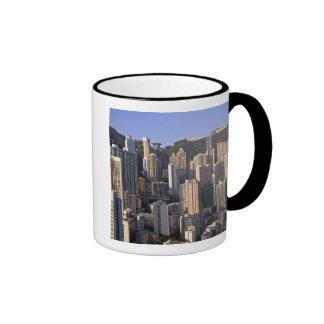 Cityscape of Hong Kong, China Ringer Coffee Mug