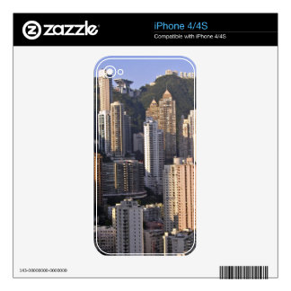 Cityscape of Hong Kong, China iPhone 4S Decals