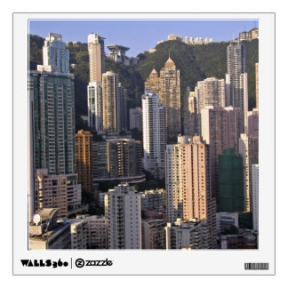 Cityscape of Hong Kong, China Wall Decal
