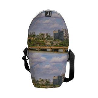 Cityscape of Recife, Pernambuco Brazil Courier Bag