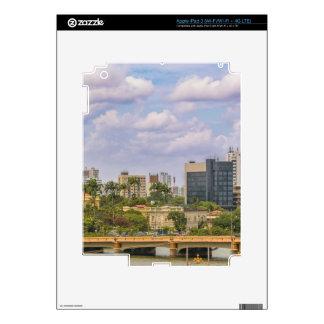 Cityscape of Recife, Pernambuco Brazil Skins For iPad 3