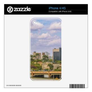 Cityscape of Recife, Pernambuco Brazil Skins For iPhone 4S