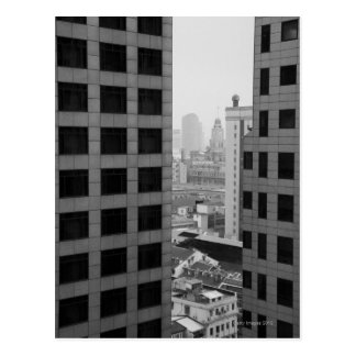 Cityscape of Shanghai, China Postcard