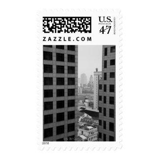 Cityscape of Shanghai, China Stamp