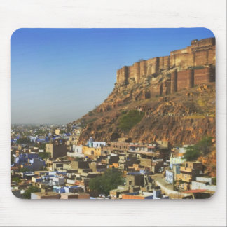 Cityscape of the Blue City with Meherangarh, the Mouse Pad