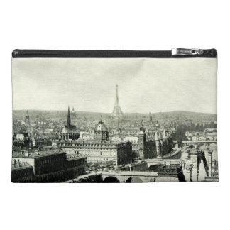 Cityscape Paris Eiffel Tower Seine Rooftops View Travel Accessories Bags