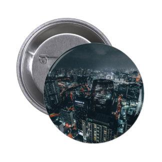 Cityscape Pinback Button