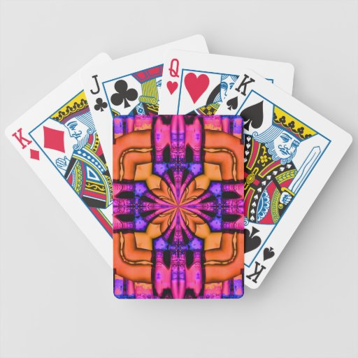 cityscape r bicycle poker cards