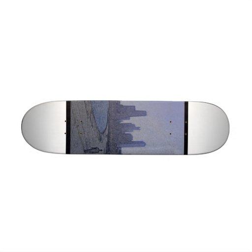 Cityscape Skateboard by GMoore