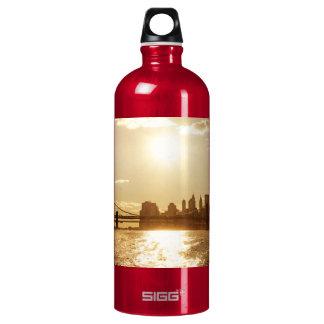 Cityscape Sunset over the New York Skyline SIGG Traveler 1.0L Water Bottle