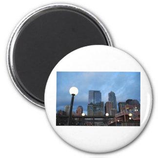 CityscapeEvening041609 Fridge Magnets