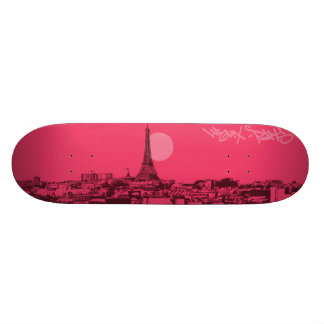 Cityscapes - Paris City Skateboard Deck