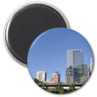 CitySkyline051709 Refrigerator Magnet