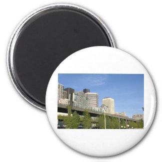 CitySkylinea051709 Fridge Magnets
