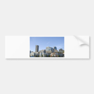 CitySkylineb051709 Bumper Sticker