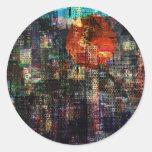 CitySun2 Classic Round Sticker