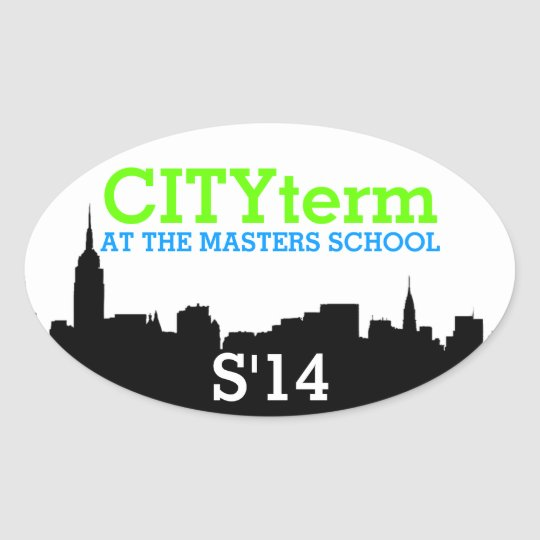 CITYterm S'14 Sticker