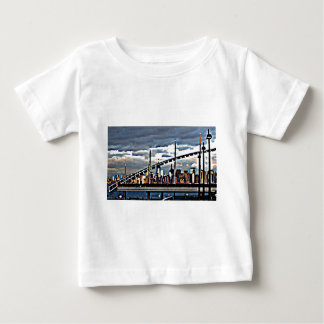 CityView Art - Staten Island Manhattan Skyscrapers T-shirt