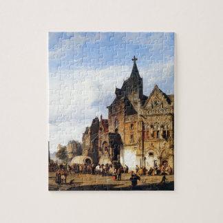 Cityview by Cornelis Springer Puzzle