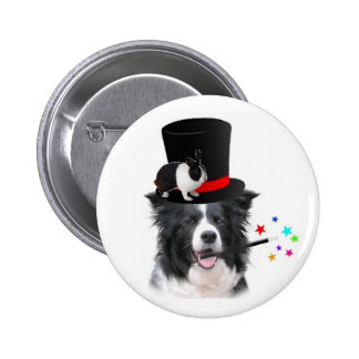Citzy Dogs Original Button Border Collie